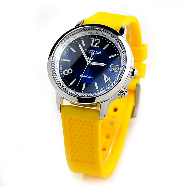 シチズンコレクション エコドライブ電波 腕時計 メンズ レディース ユニセックス 大坂なおみモデル CB1101-03L