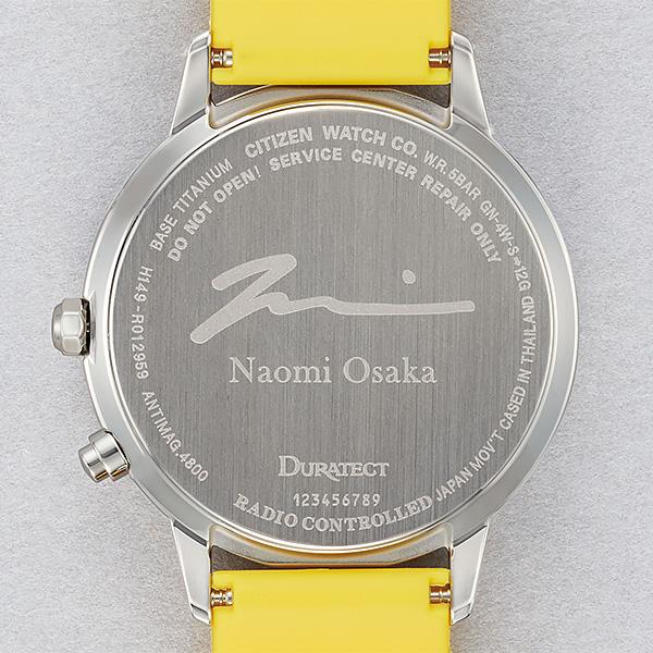 シチズン エコドライブ電波 腕時計 メンズ レディース ユニセックス 大坂なおみモデル CB1101-03L