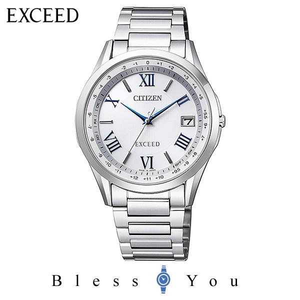 CITIZEN EXCEED シチズン 電波ソーラー メンズ 腕時計 エクシード CB1110-61A 100,0