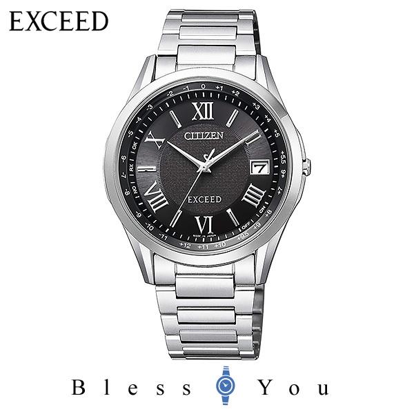 CITIZEN EXCEED シチズン 電波ソーラー メンズ 腕時計 エクシード CB1110-61E 100,0