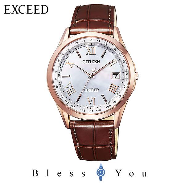 CITIZEN EXCEED シチズン 電波ソーラー メンズ 腕時計 エクシード CB1112-07W 100,0