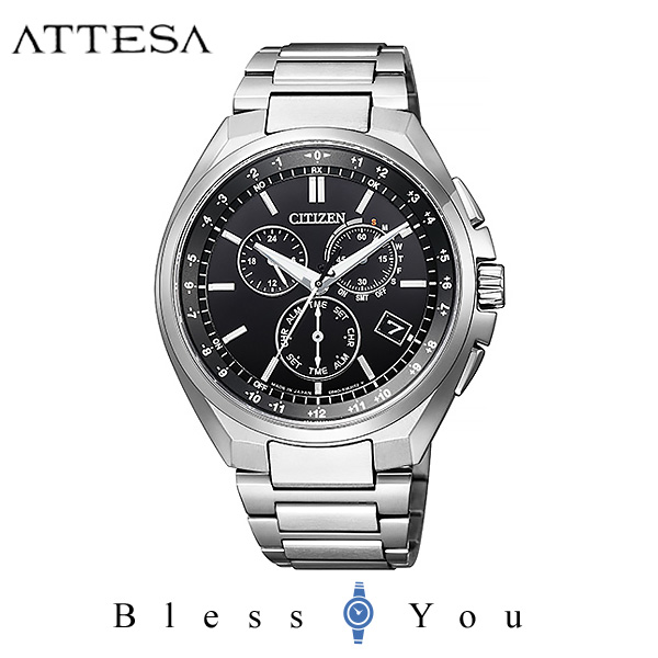 CITIZEN ATTESA シチズン ソーラー電波 腕時計 メンズ アテッサ 2019年3月 CB5040-80E 80,0