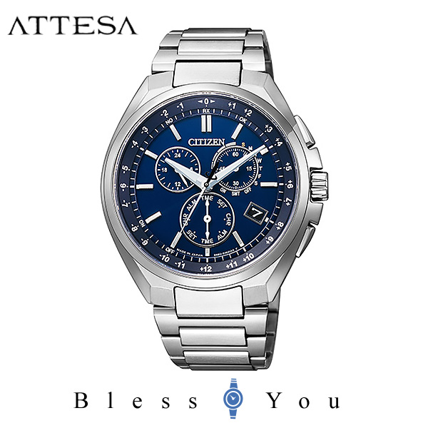 CITIZEN ATTESA シチズン ソーラー電波 腕時計 メンズ アテッサ 2019年3月 CB5040-80L 80,0