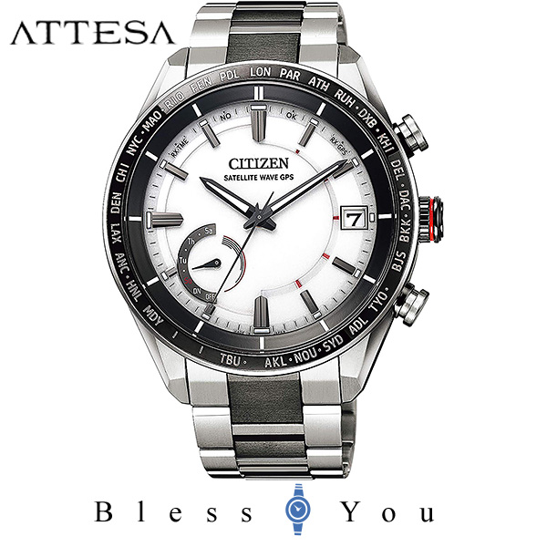 CITIZEN ATTESA シチズン GPS衛星電波時計 腕時計 メンズ アテッサ CC3085-51A