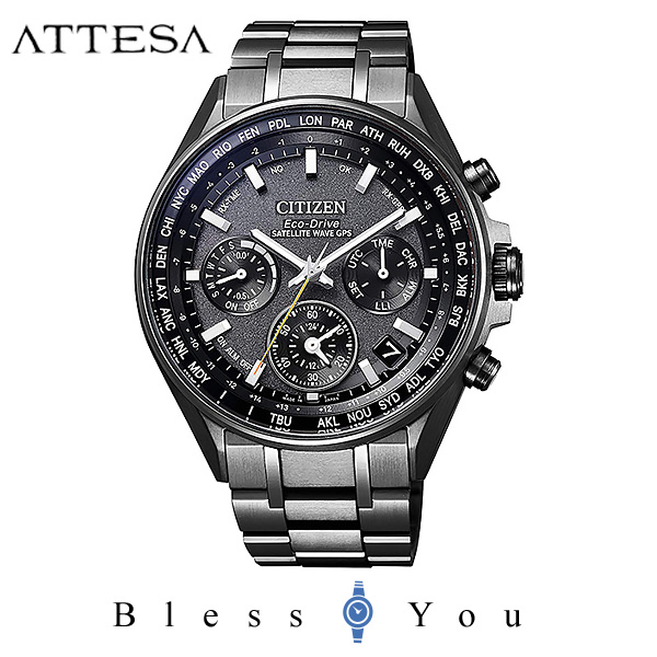 CITIZEN ATTESA シチズン 電波ソーラー 腕時計 メンズ  アテッサ CC4004-58E 230,0