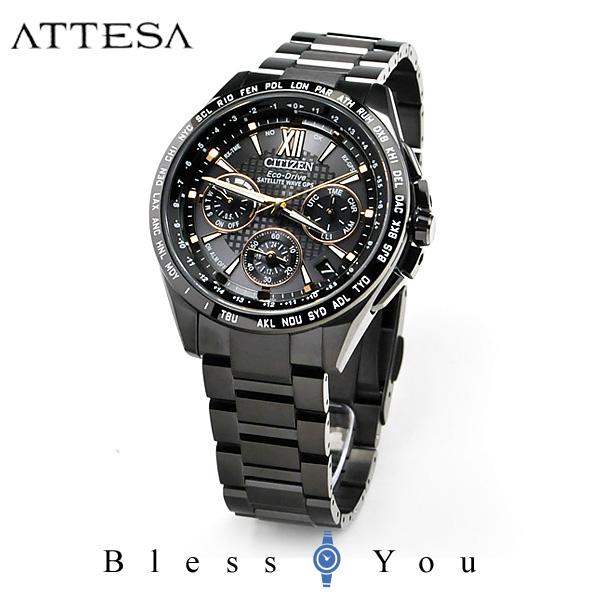 CITIZEN ATTESA シチズン 電波ソーラー 腕時計 メンズ アテッサ CC9017-59G 230,0