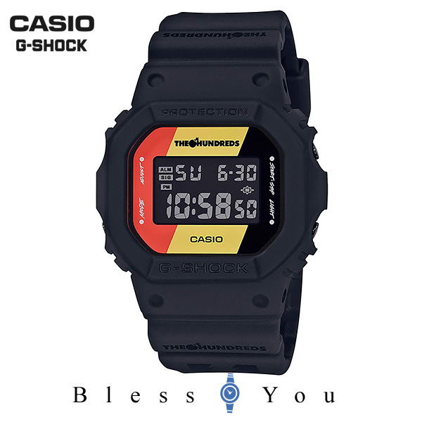 CASIO G-SHOCK カシオ 腕時計 メンズ Gショック 2018年11月新作 ザ・ハンドレッズ DW-5600HDR-1JR 17,0