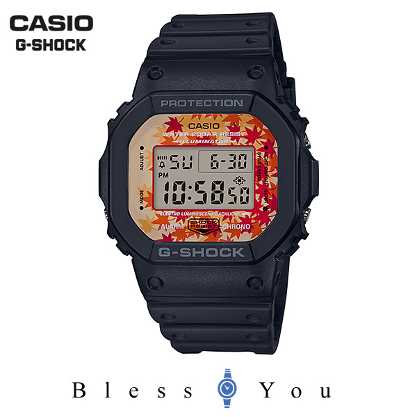 CASIO G-SHOCK カシオ 腕時計 メンズ Gショック 京もみじ 2019年9月新作 DW-5600TAL-1JR 13,0