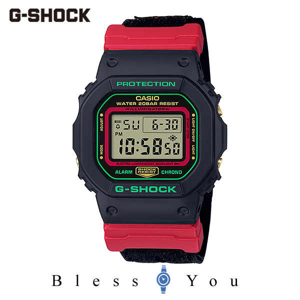 CASIO G-SHOCK カシオ 腕時計 メンズ Gショック 2019年11月新作 Throwback 1990s DW-5600THC-1JF 13,5
