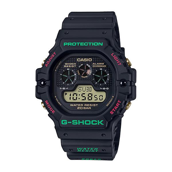 CASIO G-SHOCK カシオ 腕時計 メンズ Gショック 2019年11月新作 Throwback 1990s DW-5900TH-1JF 12,0