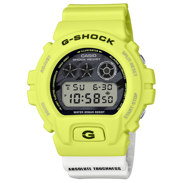 G-SHOCK Gショック 腕時計 メンズ CASIO カシオ 2020年7月新作 DW-6900TGA-9JF 12,0