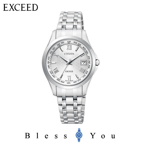 電波 CITIZEN EXCEED シチズン エクシード  レディース 腕時計 EC1120-59A ペアモデル 新品お取り寄せ 120,0