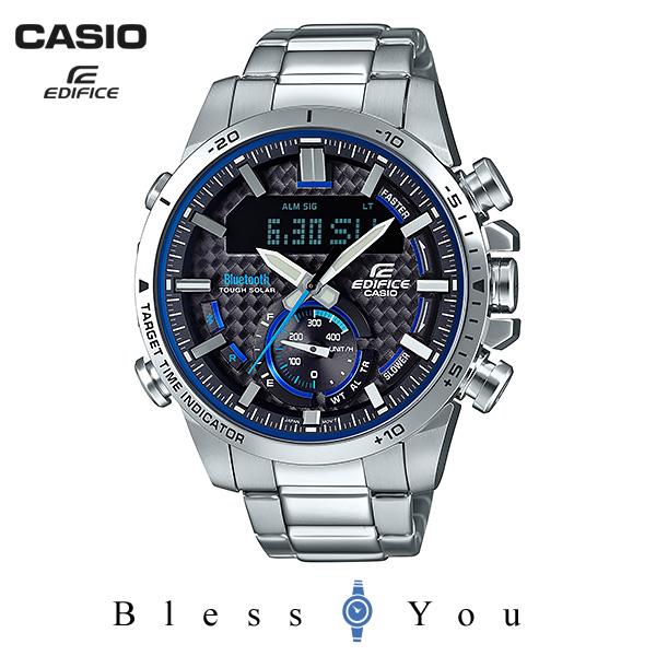 CASIO EDIFICE カシオ ソーラー 腕時計 メンズ エディフィス 2018年8月新作 ECB-800D-1AJF 35,0