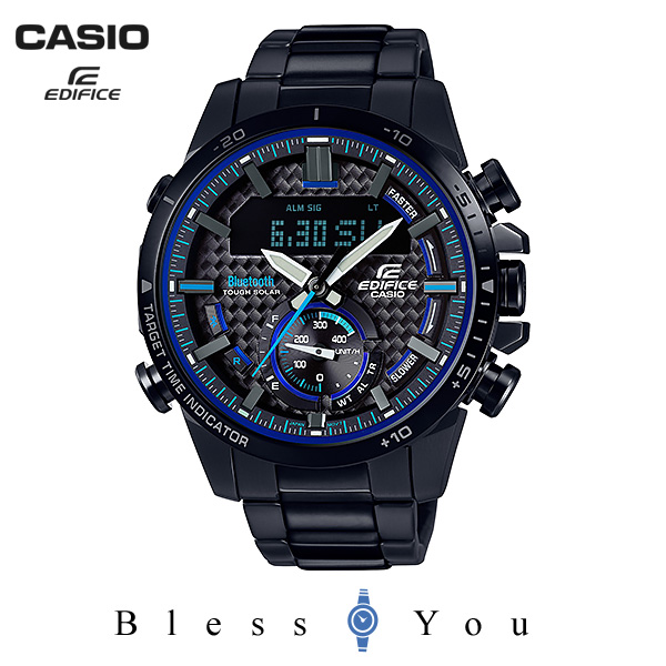 CASIO EDIFICE カシオ ソーラー 腕時計 メンズ エディフィス 2018年8月新作 ECB-800DC-1AJF 45,0