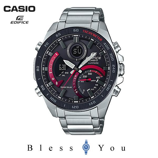 CASIO EDIFICE カシオ ソーラー 腕時計 メンズ エディフィス 2019年3月新作 ECB-900YDB-1AJF 40,0