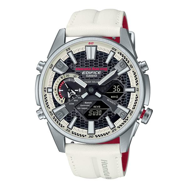 CASIO EDIFICE カシオ 腕時計 メンズ エディフィス Bluetooth 2021年10月 ECB-S100HR-1AJR 42,0