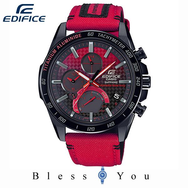 CASIO EDIFICE カシオ ソーラー 腕時計 メンズ エディフィス 2019年10月新作 Honda Racing 限定モデル EQB-1000HRS-1AJR 110,0