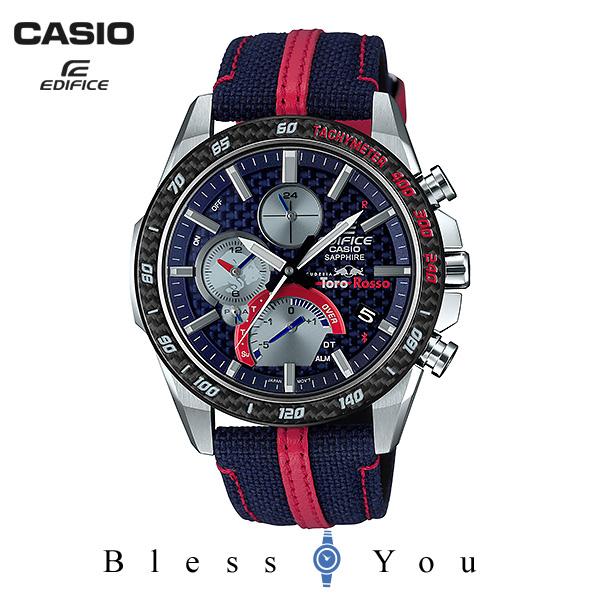 CASIO EDIFICE カシオ ソーラー 腕時計 メンズ エディフィス スクーデリア・トロ・ロッソ 2019年9月新作 EQB-1000TR-2AJR 75,0