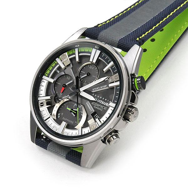 CASIO EDIFICE カシオ ALPHATAURI 腕時計 メンズ エディフィス 2021年9月 EQB-1200AT-1AJR 68,0