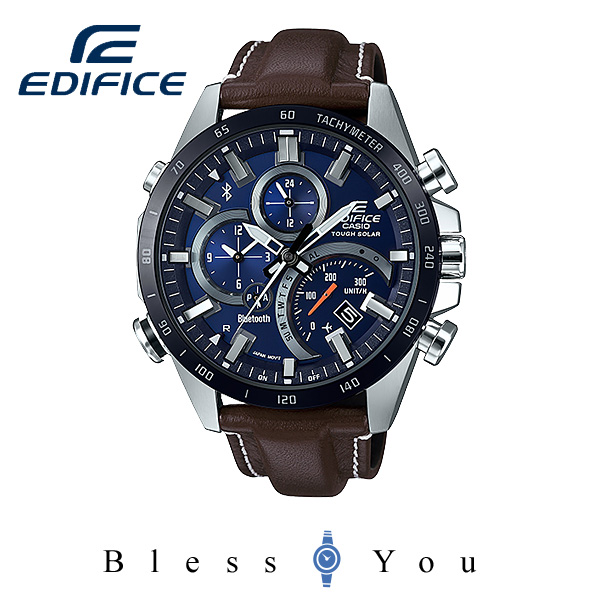 CASIO EDIFICEカシオ ソーラー 腕時計 メンズ エディフィス 2018年3月新作 EQB-501XBL-2AJF 41,0