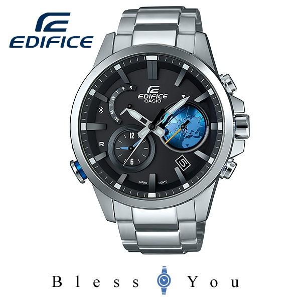 エディフィス EDIFICE Bluetooth EQB-600D-1A2JF 50,0 ソーラー充電 モバイルリンク機能