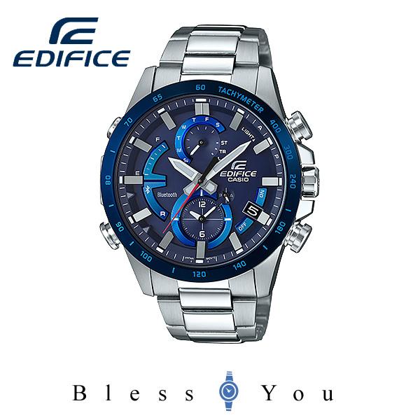 CASIO EDIFICEカシオ ソーラー 腕時計 メンズ エディフィス 2018年3月新作 EQB-900DB-2AJF 43,0