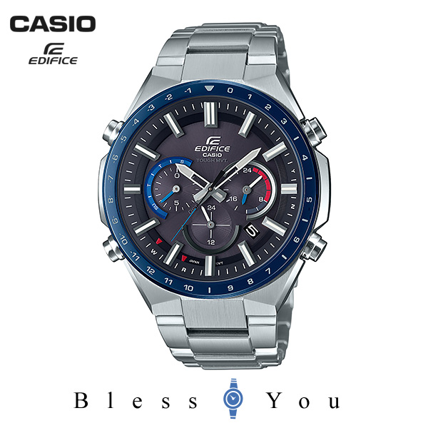 CASIO EDIFICE カシオ ソーラー電波 腕時計 メンズ エディフィス 2019年7月新作 EQW-T660DB-1BJF 48,0