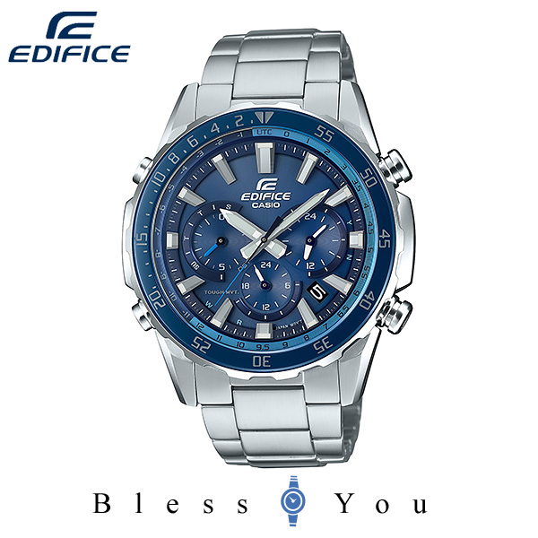 CASIO EDIFICE カシオ ソーラー電波 腕時計 メンズ エディフィス 2019年11月新作 EQW-T670DB-2AJF 50,0