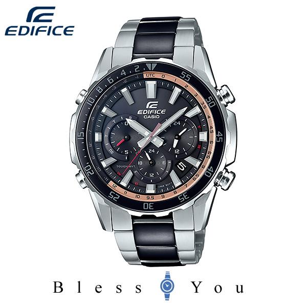 CASIO EDIFICE カシオ ソーラー電波 腕時計 メンズ エディフィス 2019年11月新作 EQW-T670SBK-1AJF 52,0