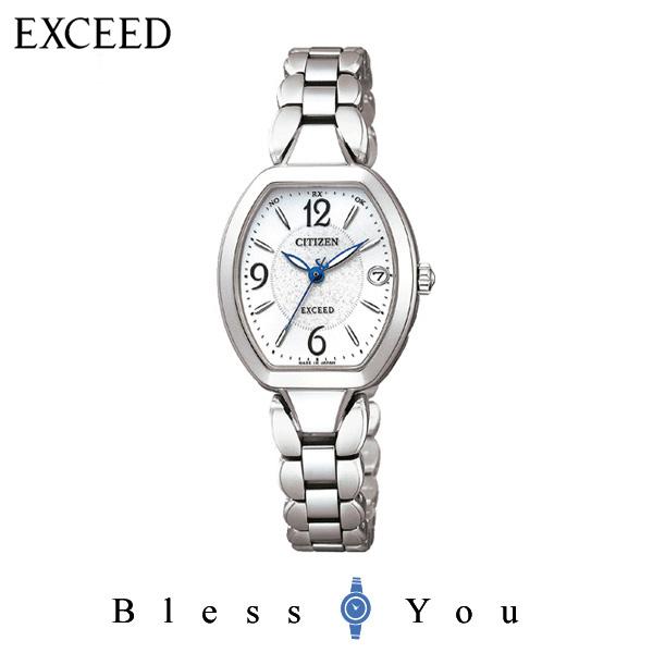 シチズンCITIZEN 腕時計 EXCEED エクシード Eco-Drive エコ・ドライブ 電波時計 ES8060-57A レディース