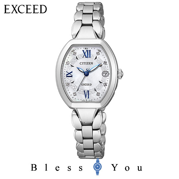 CITIZEN 腕時計 EXCEED エクシード Eco-Drive エコ・ドライブ 電波時計 チタニウムコレクション ES8060-65W