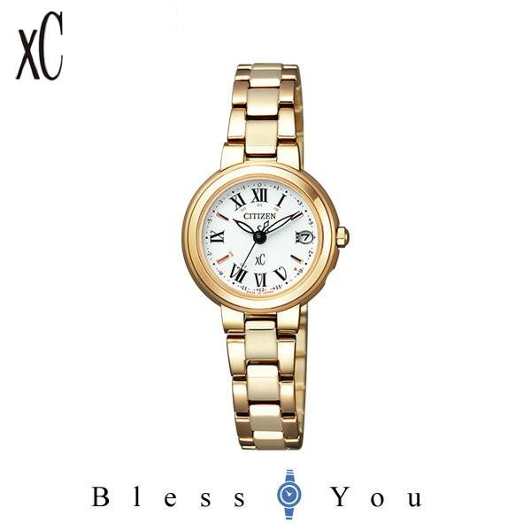 電波 シチズン クロスシー XC ティタニアライン ハッピーフライト レディース 腕時計 ES9003-55A 58,0