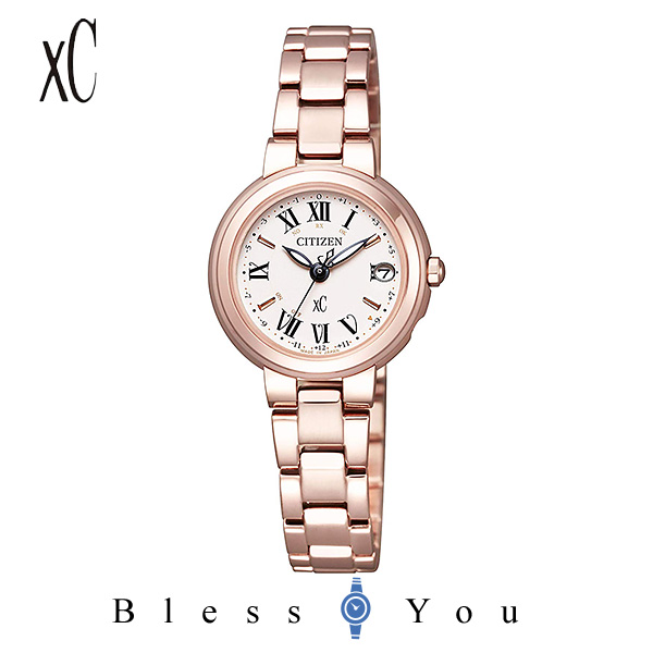 CITIZEN xC シチズン エコドライブ電波 腕時計 レディース クロスシー ES9005-50W 58,0