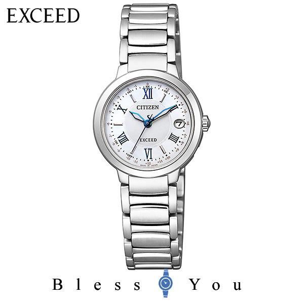 電波 CITIZEN EXCEED シチズン エクシード  レディース 腕時計 ES9320-52W 新品お取り寄せ 100,0