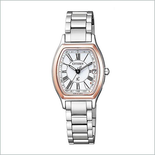 CITIZEN XC シチズン クロスシー エコドライブ電波 ハッピーフライト ティタニアライン レディース 腕時計 ES9355-58A 76,0