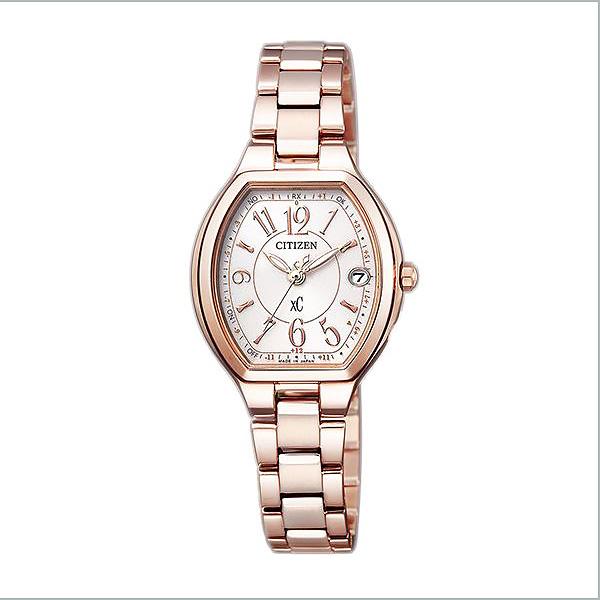 CITIZEN XC シチズン クロスシー エコドライブ電波 ハッピーフライト ティタニアライン レディース 腕時計 ES9362-52W 59,0