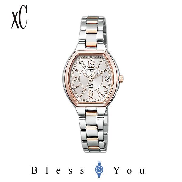 CITIZEN XC シチズン クロスシー エコドライブ電波 ハッピーフライト ティタニアライン レディース 腕時計 ES9364-57A 59,0