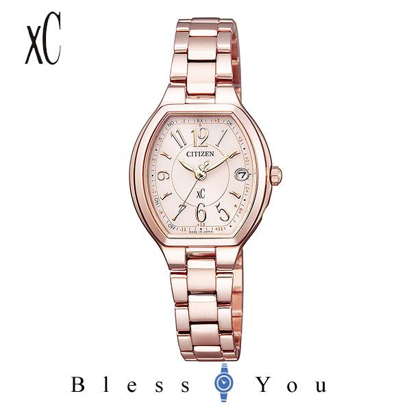 CITIZEN xC シチズン エコドライブ電波 腕時計 レディース クロスシー ES9365-54W 59,0