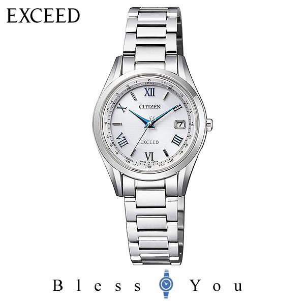 CITIZEN EXCEED シチズン 電波ソーラー レディース 腕時計 エクシード ES9370-62A 100,0