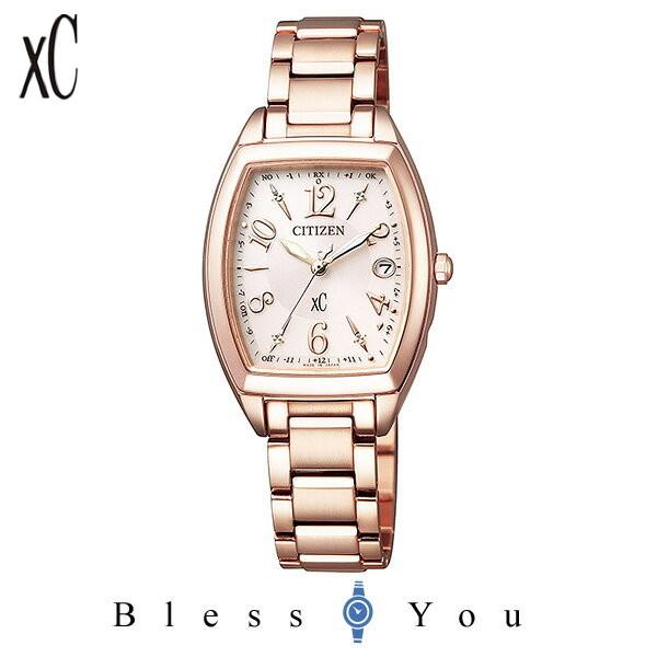 CITIZEN xC シチズン 電波ソーラー レディース 腕時計 クロスシー ES9392-51W 59,0