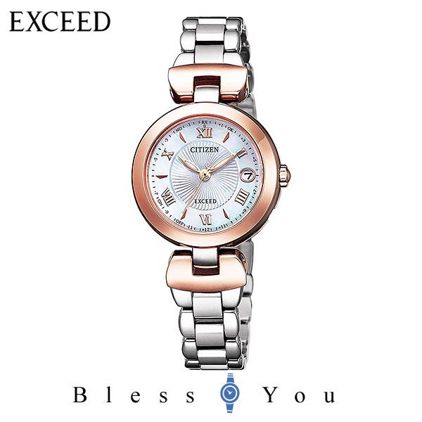 CITIZEN EXCEED シチズン ソーラー電波 腕時計 レディース エクシード ES9425-54A 130,0