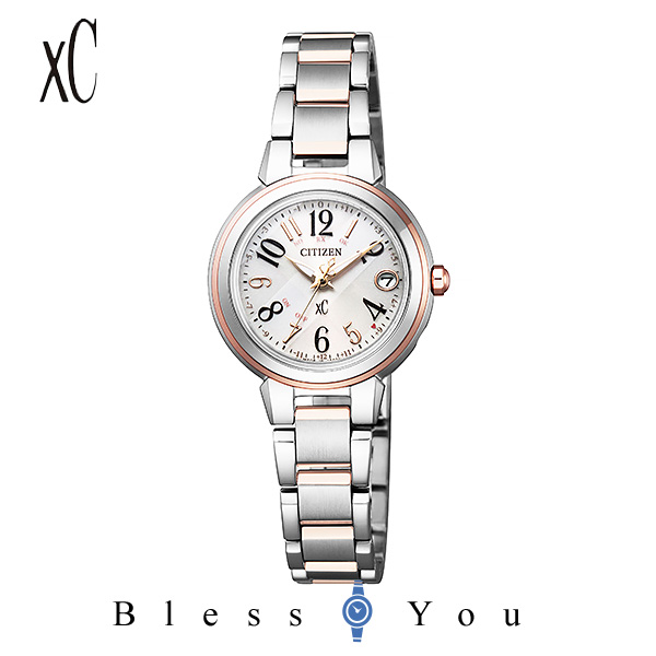 CITIZEN XC シチズン ソーラー電波 腕時計 レディース クロスシー 2019年2月 ES9434-53X 50,0