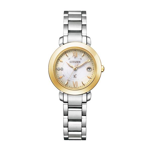 シチズン ソーラー電波 腕時計 レディース クロスシー 限定モデル 2021年4月 ES9447-51A 100,0