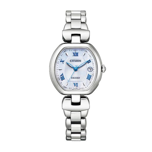 CITIZEN EXCEED シチズン ソーラー電波 腕時計 レディース エクシード ES9450-57A 130,0