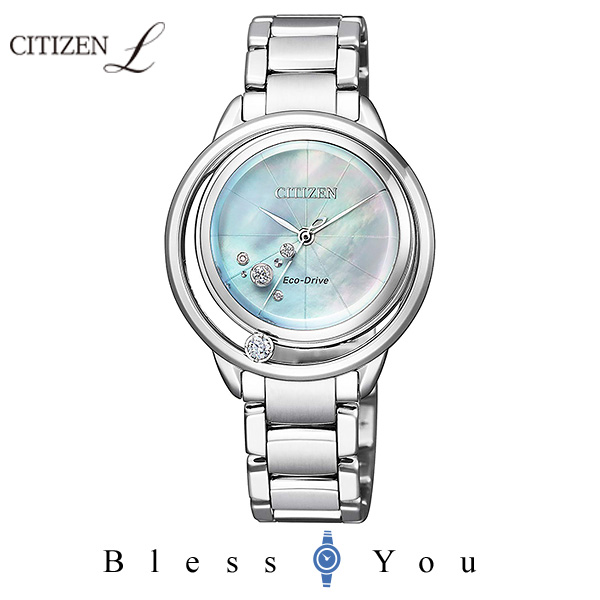 CITIZEN L シチズン エル ソーラー レディース 腕時計 EW5521-81D 100,0