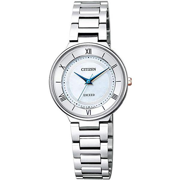 CITIZEN EXCEED シチズン ソーラー 腕時計 レディース エクシード ペアモデル EX2090-57A  65,0