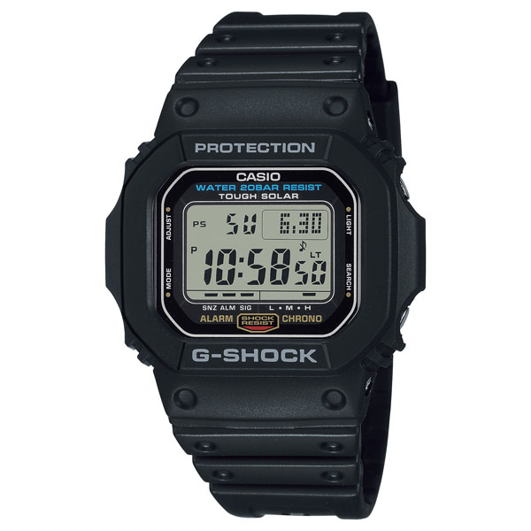 G-SHOCK Gショック ソーラー 腕時計 メンズ CASIO カシオ 2021年7月 G-5600UE-1JF 15,0 ギフト B10TCH