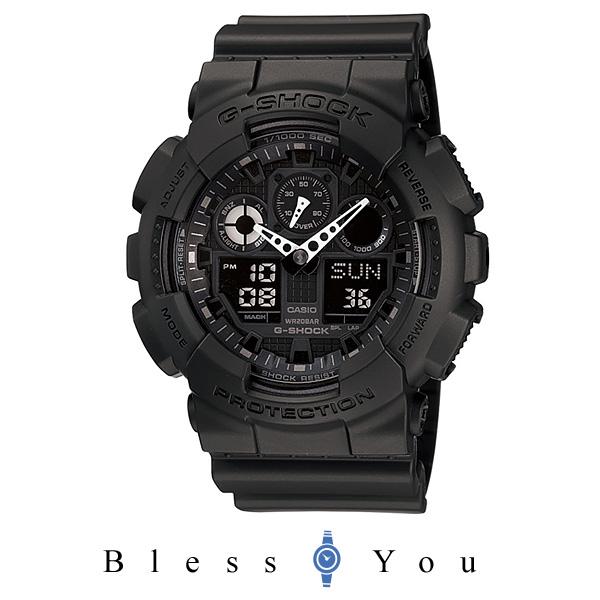 CASIO G-SHOCK カシオ 腕時計 メンズ Gショック GA-100-1A1JF 13,5