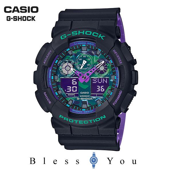 CASIO G-SHOCK カシオ 腕時計 メンズ Gショック 2019年4月新作 GA-100BL-1AJF 16,0