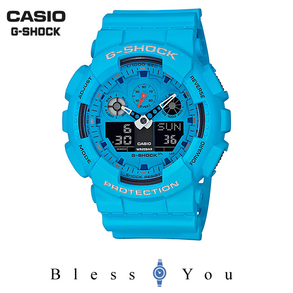 CASIO G-SHOCK カシオ 腕時計 メンズ Gショック 2019年5月新作 ホットロックサウンズ GA-100RS-2AJF 13,5
